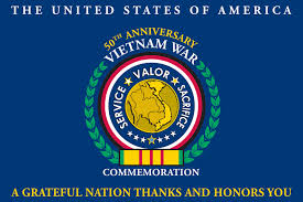Vietnam Commemorative Flag 50th